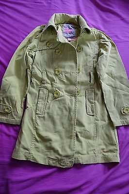 Girls green coat by Next - Size 9-10yrs (140cms)