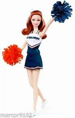 Barbie Doll University of AUBURN Tigers Cheerleader UA New