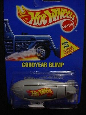 Good Year Blimp Sealed In Package Obsolete Rare Brand New By Hot Wheels Mattel