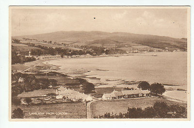Lamlash From Cordon Isle Of Arran Photo Taken 1895 Valentines 22060 Old Postcard