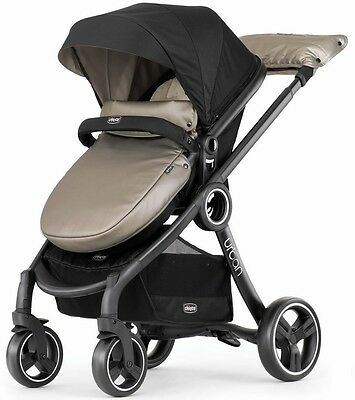 Chicco Urban 6 in 1 Modular stroller in Truffle Brand New!! Free Shipping!!