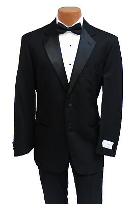 Brand New Classic Wool Mens Black Traditional Tuxedo 5 Piece Set Groom Wedding