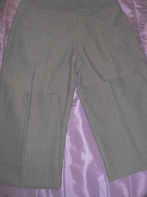 Marks & Spencer Ladies Brown Trousers Uk 14 Medium