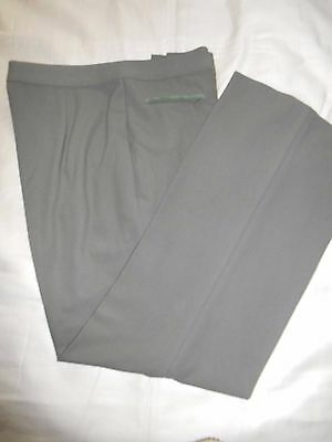 Marks & Spencer Ladies Khaki Trousers Uk 14 Medium