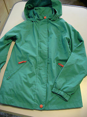 Gilrs Turquoise Blue Jacket From Adventurers Fit Age 9-10 Years