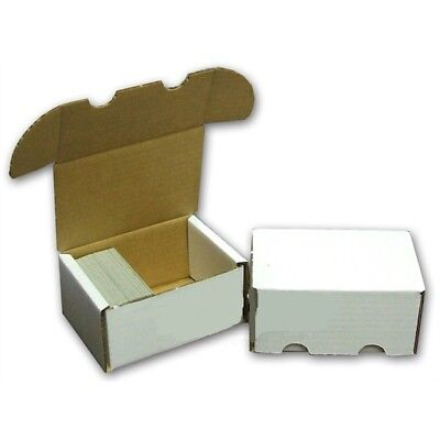 Bundle of 50 Max 330 Count Corrugated Cardboard Baseball Trading Card Boxes box