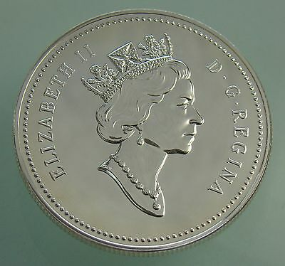 1992 Canadian Stagecoach Dollar Proof 92.5% Silver Coin In Airtite Capsule,#4043