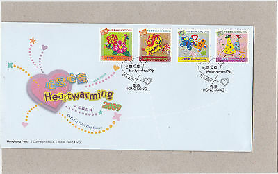 Hong Kong {China} 2009 Heartwarming Set Un-Addressed First Day Cover