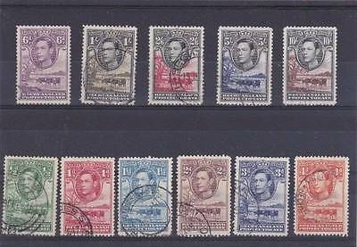 "Bechuanaland 1938 Pictorial Set Of ""11"" Sg.118-128 Fine Used"