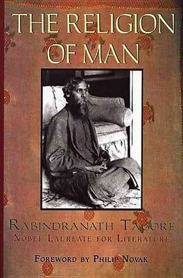 The Religion of Man by Rabindranath Tagore Paperback Book (English)