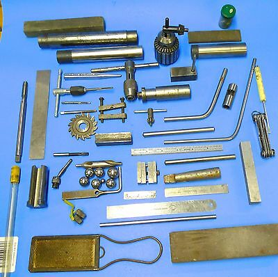 LARGE LOT of MACHINIST TOOLS