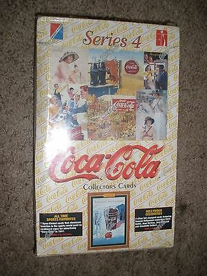1995  COCA-COLA  Collector Cards   Series - 4   BOX  Sealed