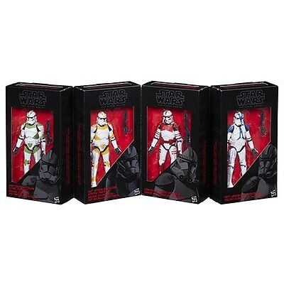 Star Wars The Black Series Clone Troopers of Order 66 4 pack Collectable Figures