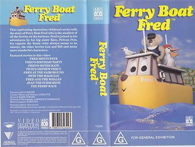 Ferry Boat Fred Vhs Video Pal~ A Rare Find~