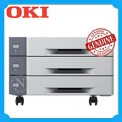 OKI Genuine 45530803 1590x Sheets Large Capacity Feeder+Castor-> C911/C931/C941