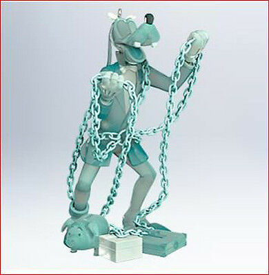 2011 Hallmark GOOFY as JACOB MARLEY Mickey's Christmas Carol #3 Ornament