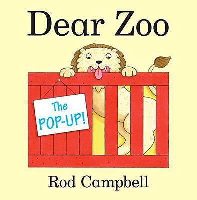 The Pop-Up Dear Zoo, Campbell, Rod | Paperback Book | 9781447233565 | NEW