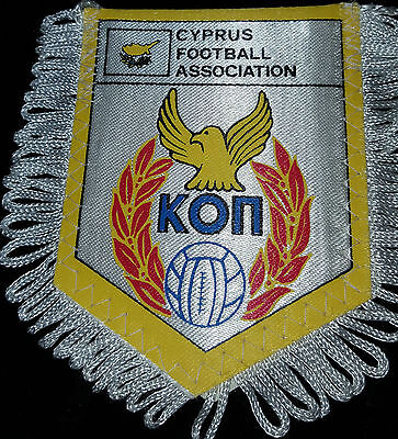 cyprus football association origional colour pennant