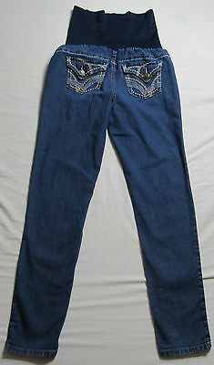 Women's Apollo Maternity Skinny Stretch Jeans Size Small : 5086