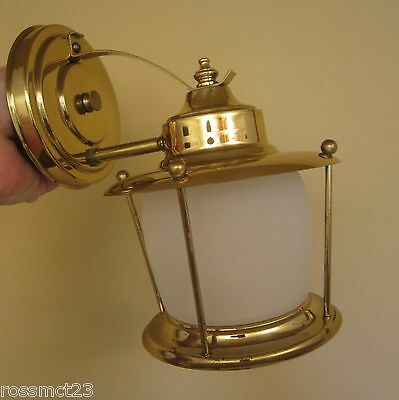 Vintage Sconce never used Mid Century porch wall light   More Available