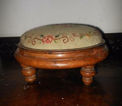old footstool for restore