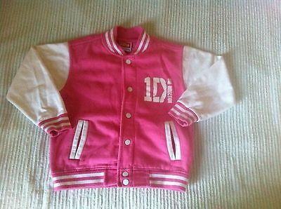 Girls 1D jacket great with any top dress 5-6 years