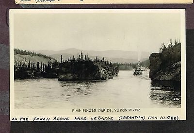 Canad Postcard  Five Finger Rapids Yukon  (Sp12