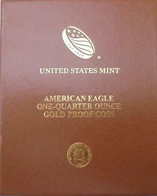USA 2016 Gold Proof Eagle $10 Coin in Official Mint Case With COA