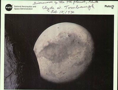 CLYDE TOMBAUGH American Astronomer 'Pluto' Autograph Signed UACC & AFTAL DEALER