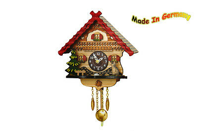 Black Forest Kuckulino Swing Clock, Westminster chimes, Cuckoo Made in Germany