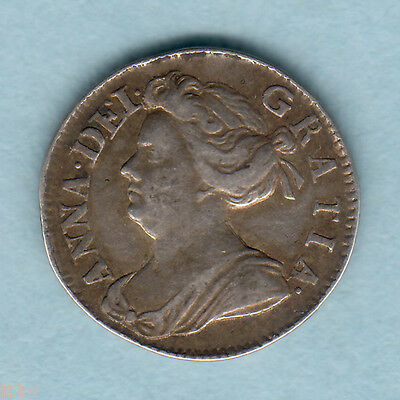 Great Britain. 1705  - Queen Anne Twopence..  VF