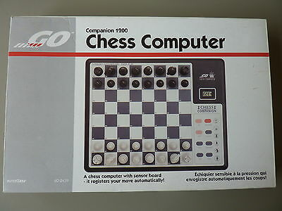 Vintage Electronic Chess - COMPANION 1200 GO CHESS COMPUTER :- INTERTAN BOXED