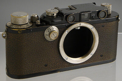 Leica III (1934) vintage German film rangefinder camera_ Leitz genuine original