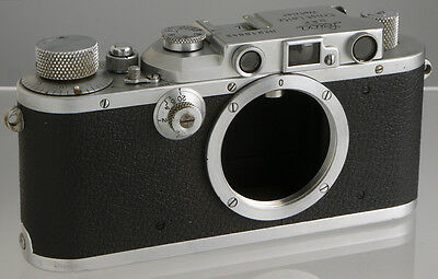 Leica IIIa (1936) vintage German film rangefinder camera_ Leitz genuine original