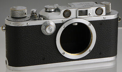 Leica IIIa (1939) vintage German film rangefinder camera_ Leitz genuine original