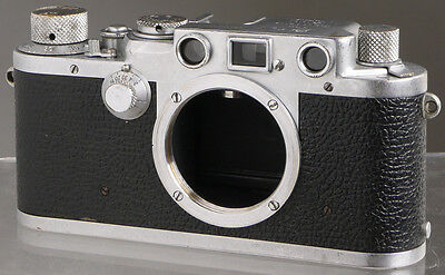 Leica IIIf (1951) _ German 35mm film rangefinder camera _ Leitz genuine original