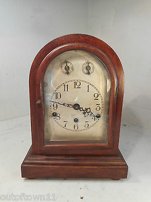 Antique Mahogany Westminster Chimimg Clock