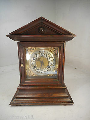 Antique Oak Striking Clock