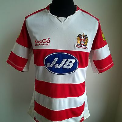 Wigan Warriors Home Rugby Shirt Kooga Jersey Size Adult M