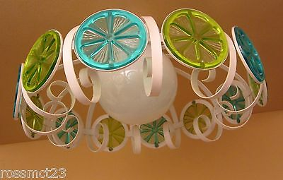 Vintage Lighting 1970s Mod kitchen or garden room ceiling light