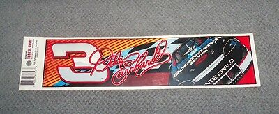 NASCAR Vintage 1997 Dale Earnhardt #3 Goodwrench Service Bumper Sticker New Rare