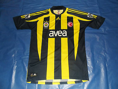 Fenebahce Home Jersey Size Large 100 Anno