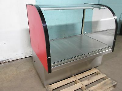 """""""delfield"""" Commercial Lighted Curved Glass Dry Bakery Merchandiser Display Case"""