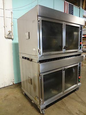 """""""hardt Inferno 2000"""" H.d. Commercial Nat.gas Dbl Stacked Chicken Rotisserie Oven"""