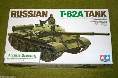 Tamiya T62A RUSSIAN ARMY TANK  1/35 Scale Kit 35108