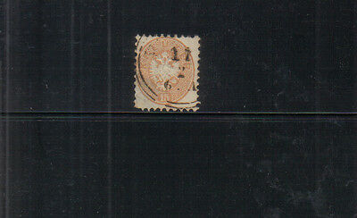 Lombardy and Venetia 18665 (perf 9.5) 15s used