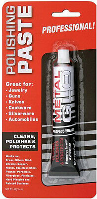 United Metal Glo Professional Polishing Paste! Clean and Protect Knives & Metal!
