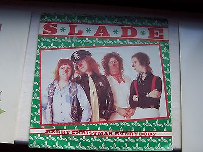 Slade, Merry Christmas Everybody. Rare Picture Sleeve Issue
