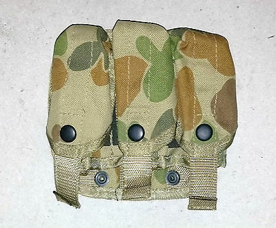 Aussie Triple Pocket Ozzie Camo Land 125 Molle / Sord Tactical Security Cosplay