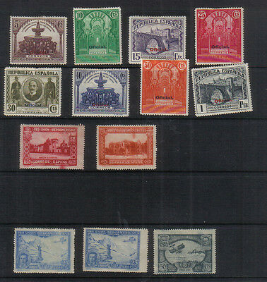 Spain 1930-31 Small mounted mint collection
